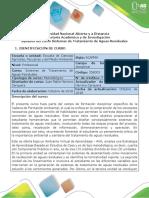 Syllabus Del Curso Sistemas de Tratamiento de Aguas Residuales