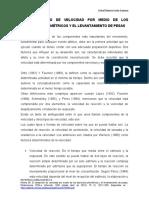 2 EL DESARROLLO DE VELOCIDAD POR MEDIO DE LOS EJERCICIOS PLIOMÉTRICOS Y EL LEVANTAMIENTO DE PESAS