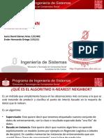 PRESENTACION KNN MINERIA DE DATOS EXAMEN