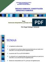 Sentencias interpretativas y principio de legalidad penal
