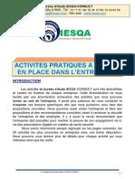 Activités pratiques à mettre en place NC2