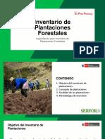 METODOLOGIA INVENTARIOS FORESTALES Serfor Peru