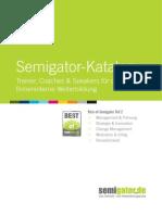 Trainer, Coaches und Speakers für die firmeninterne Weiterbildung