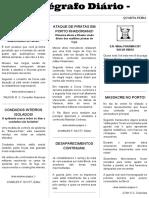 Telegrafo Diário - Mês 9