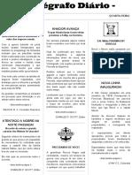 Telegrafo Diário - Mês 6