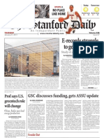 The Stanford Daily, Jan. 27, 2011