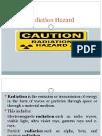 5. Radiation hazard