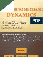 ENGG MECHANICS - DYNAMICS-1