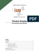 Pêndulo Simples
