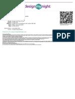 DesignMyNight.com Ticket DMN-5931024782