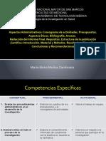 ASPECTOS ADMINISTRATIVOS Y REDACCION ARTICULO