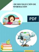 9 Tecnicas de recolección de información