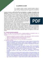 Politiche Sociali Sintesi Programmi (Tavolo