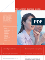 International Business English  COURSE OUTLINE