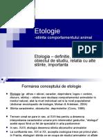 etologie generala