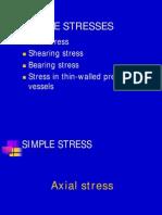 Axial Stress