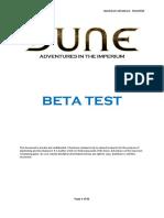 Modiphius - Dune - Adventures in the Imperium - Quickstart - Adventure - Desertfall (CLOSED BETA TEST) [2020].pdf
