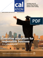 Executive Education for Responsible Business