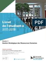 upn-livret-pedagogique-segmi- M2 GSRH - 2017-2018
