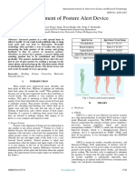 Development of Posture Alert Device
