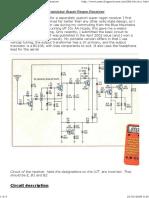 6 Transistor VHF Super Rege...