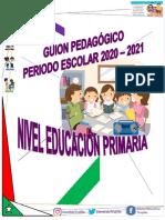 Guion Pedagogico Educacion Primaria 2020 -2021