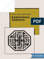 Esoterismo Islamico - Titus Burckhardt