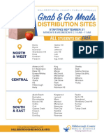 Grab and Go Meals Distribution Sites Hillsborough County