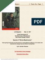 1957 - Wasson - Life Magazine - Secret of Divine Mushrooms (web).pdf
