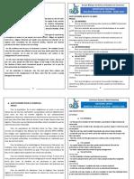 Bulletin Nat de Prière-Mars 2020