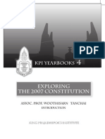 KPI Yearbook 4 Exploring the 2007 Constitution