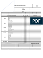 SIG-FOR-019 Check List Retroexcavadora Ver.01