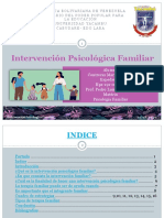 Intervención Psicológica Familiar