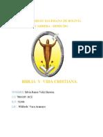 ANALISIS DE LA BIBLIA