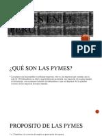 PYMES EN EL PERÚ