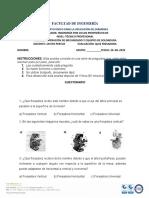 CUESTIONARIO FRESADORA