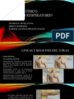 Examen físico torax