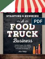 Starting & Running a Food Truck Business - Alan Philips