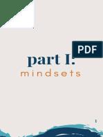 Mindsets&Habits - Tej Dosa