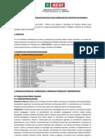 Comunicado de Processo Seletivo Para Formação de Cadastro de Reserva Sesi Dr Rio Branco Nº 01.2019