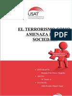 EL TERRORISMO COMO AMENAZA EN LA SOCIEDAD