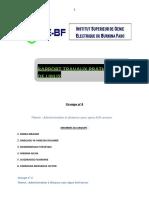 Groupe n° 4 Administration àdistance avec Open SSH server