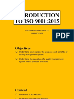 ISO 9001 AWARENESS PART 01 -INTRODUCTION