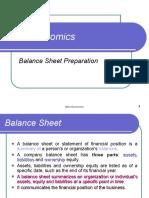 Balance Sheet Preparation - 7 semester.ppt