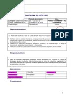 Programa de Trabajo Auditoria Pasivos_Provisiones