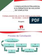 PPT - FORMALIDADES DEL ACTA