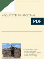 01 Arquitectura regional