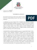 035-13-00421  Sentencia Daños y Perjuicios