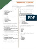 SEMINARIO N°01 - LITERATURA