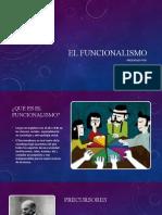 EL FUNCIONALISMO (1)